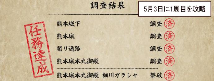慶長熊本攻略16