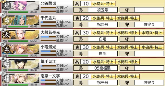 刀剣乱舞「連隊戦~海辺の陣~」19