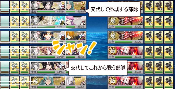 刀剣乱舞「連隊戦~海辺の陣~」6