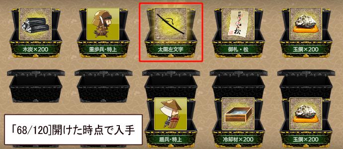 刀剣男士no190「太閤左文字」2