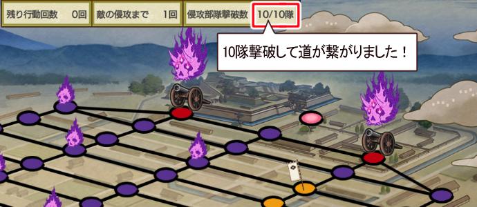 2021年1月刀剣乱舞イベント「特命調査慶応甲府」大砲ボスへの道