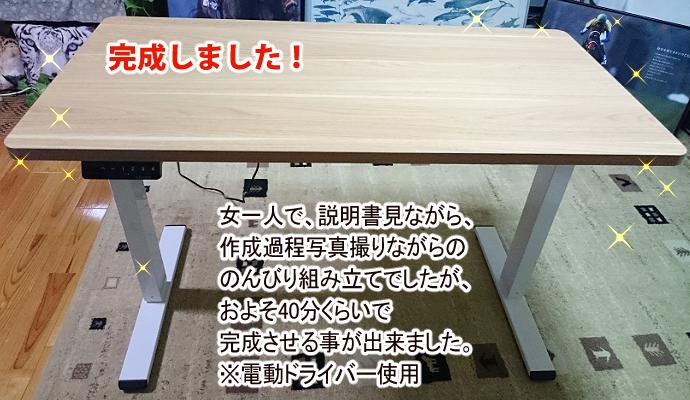 FLEXIPOT昇降デスクレビュー記事8