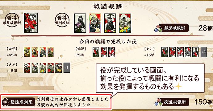 刀剣乱舞「秘宝の里~花集めの段~」2021年6月期遊び方4