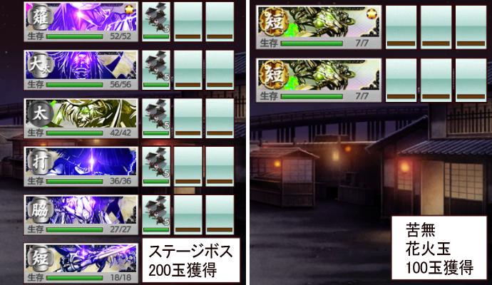 刀剣乱舞イベント【夜花奪還作戦】2021年8月期敵部隊3